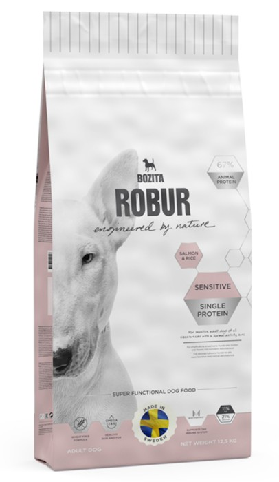 Robur Sensitive Single Protein Salmon 12,5kg