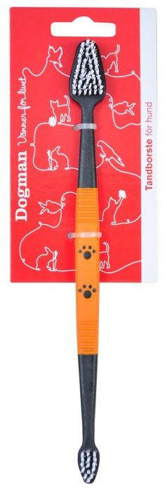 Dogman Tandborste Dubbel 22,5cm