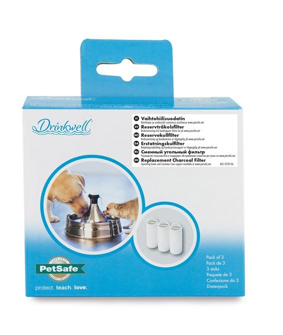 Drinkwell kolfilter till 360 3,8 liter 3-pack