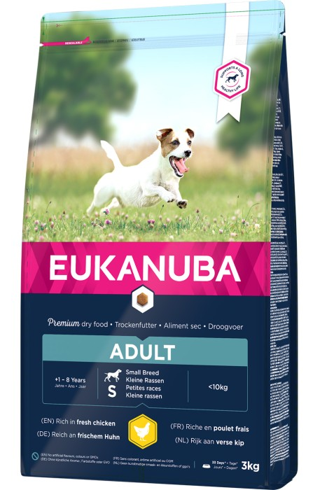 Eukanuba Adult S, 3kg