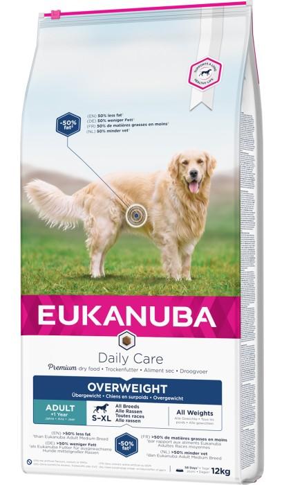 Eukanuba Daily Care Overweight, Sterilised 12kg