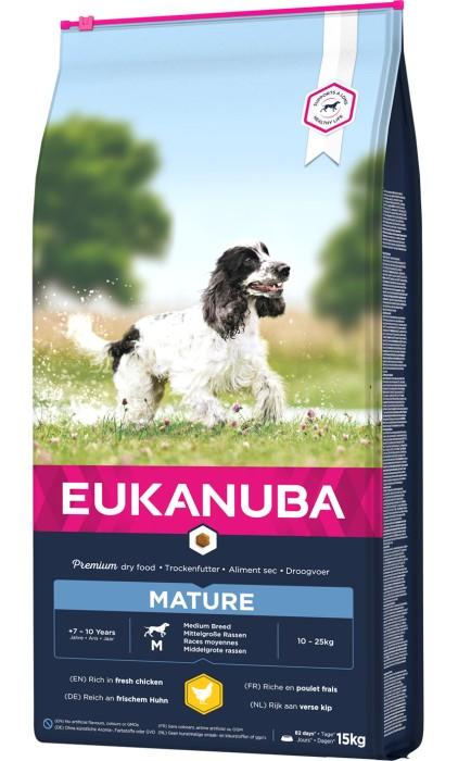 Eukanuba Mature Medium 15kg