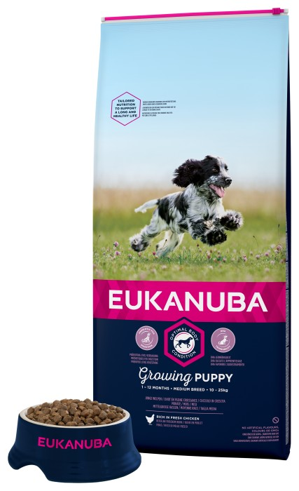 Eukanuba Puppy Medium 18kg