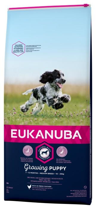 Eukanuba Puppy Medium 3kg