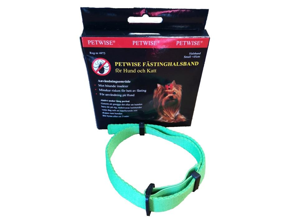Fästinghalsband Petwise 0-45cm