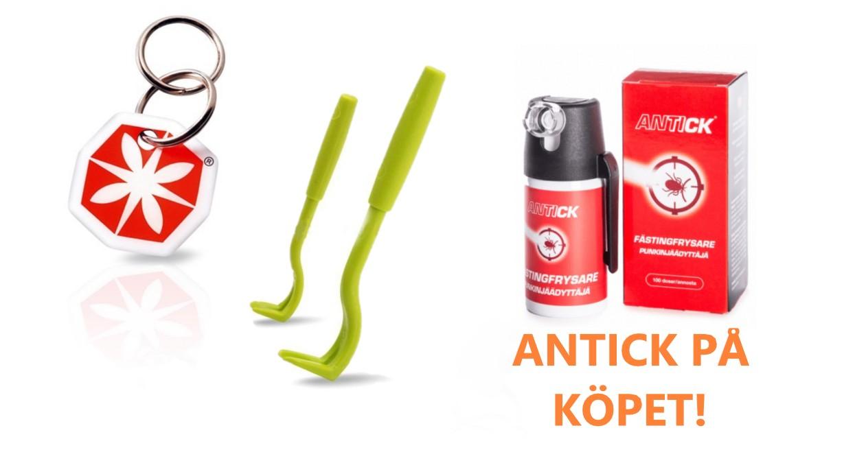Fästingkit Tic Clip + Kofot, Gratis Antick Fästingfrysare på köpet