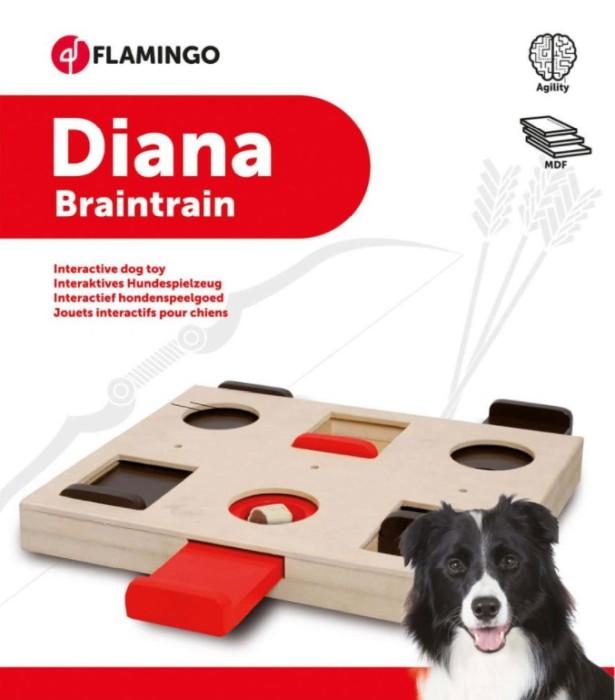 Flamingo Diana Aktiveringsleksak