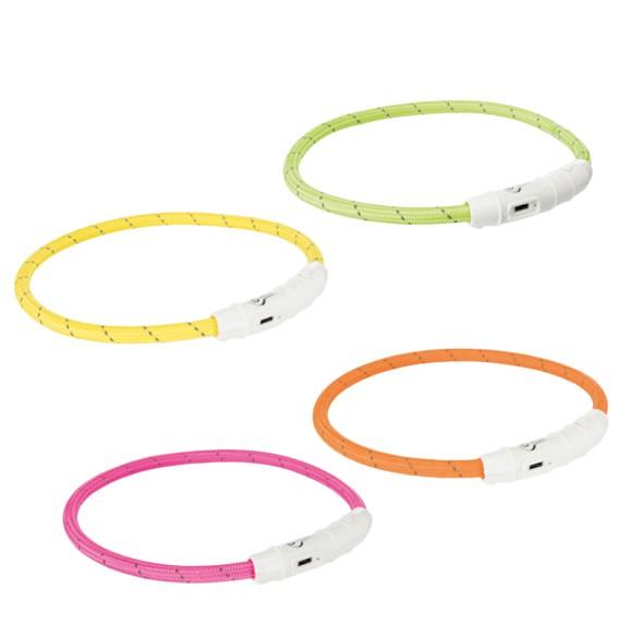 Trixie Flash Light ring, USB, 35cm/7mm
