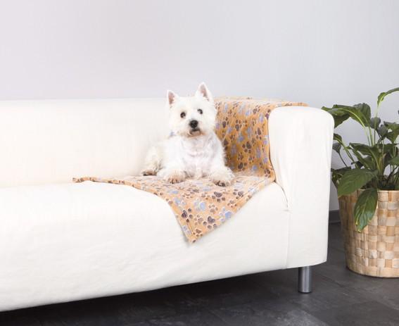 Trixie Fleecefilt Laslo 150×100cm Beige