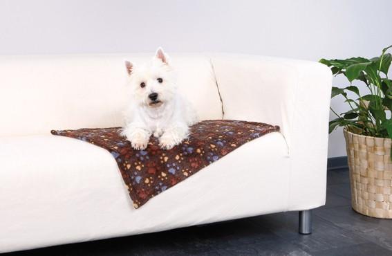 Trixie Fleecefilt Laslo 75×50cm Mörkbrun