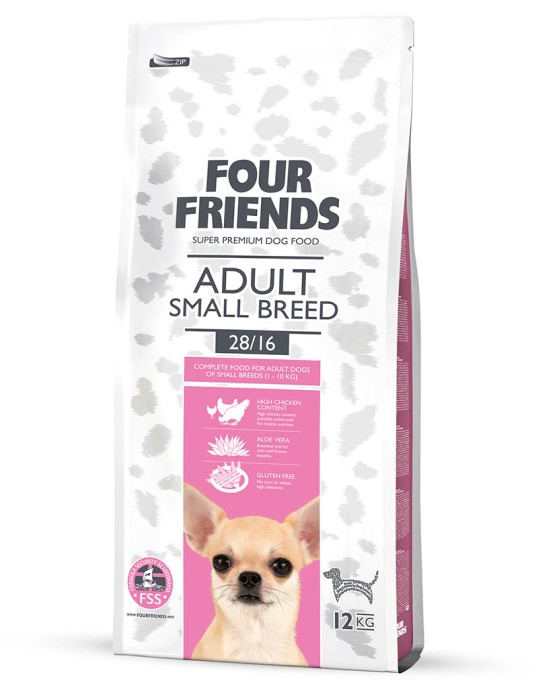 FourFriends Adult Small Breed 17kg