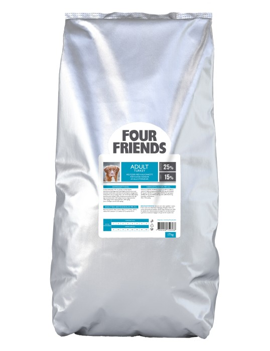 FourFriends Adult Turkey 17kg
