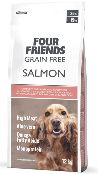 FourFriends Grain Free Salmon 12kg
