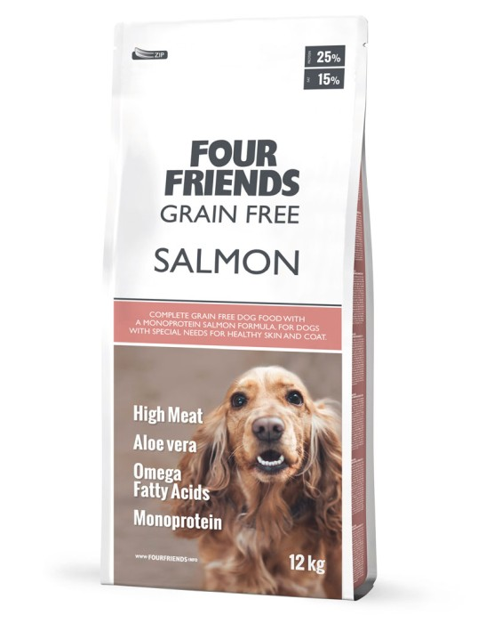FourFriends Grain Free Salmon 17kg