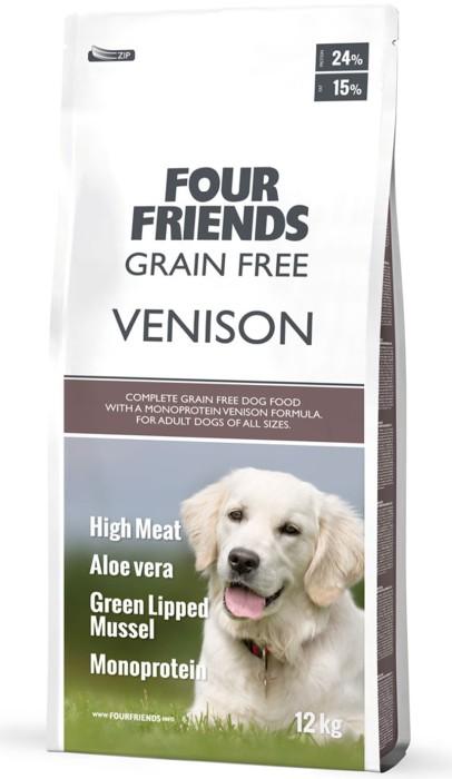 FourFriends Grain Free Venison 12kg