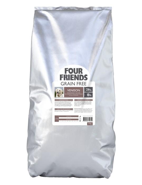 FourFriends Grain Free Venison, 17kg