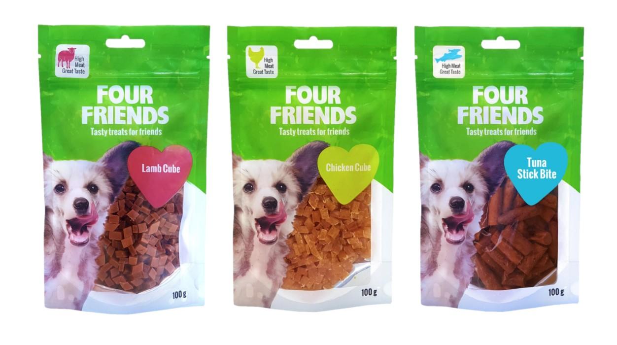 FourFriends Hundgodis, 100g