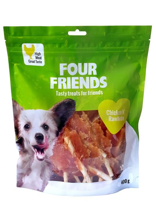 FourFriends Chicken N`Rawhide 400g