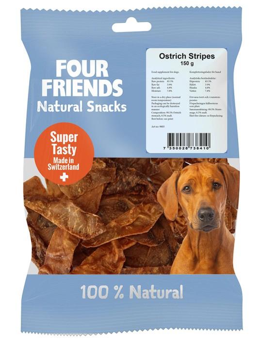 FourFriends Natural Snacks Struts Stripes 150g