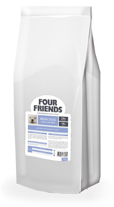 FourFriends Sensi Dog Low Calorie 17kg