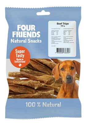 FourFriends Natural Snacks Beef 100g