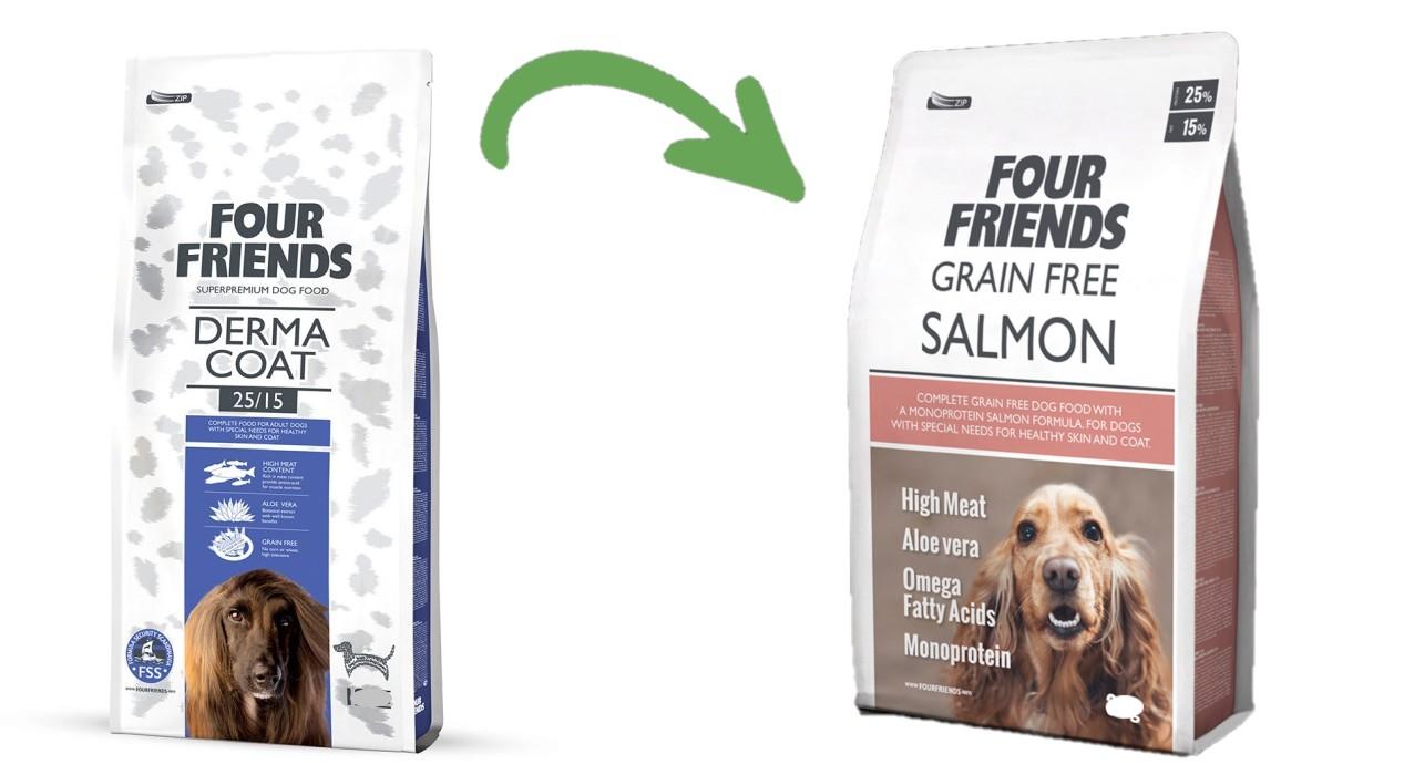 Four Friends Grain Free Salmon 3kg