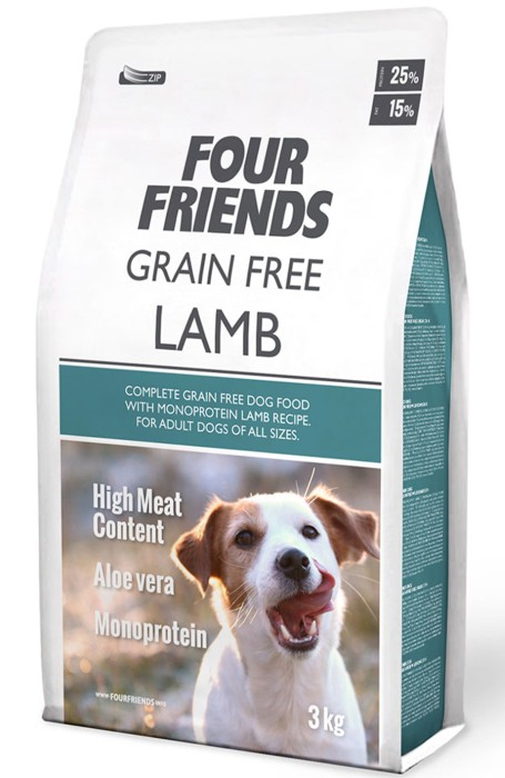 FourFriends Grain Free Lamb 3kg