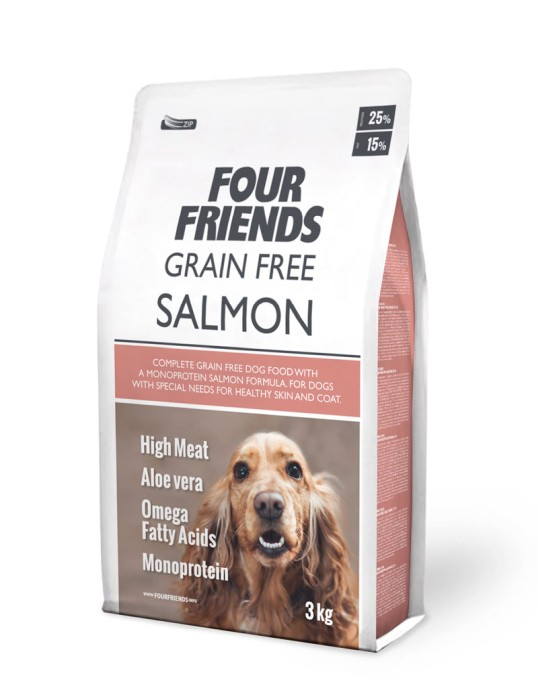 FourFriends Grain Free Salmon 3kg