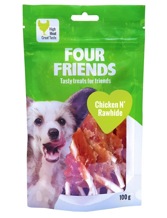 FourFriends Chicken N`Rawhide 100gr
