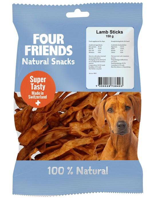 FourFriends Natural Snacks Lamb Sticks 150g