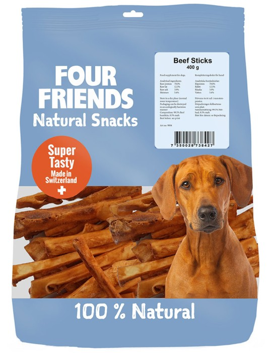 FourFriends Natural Snacks Beef Stick 400g
