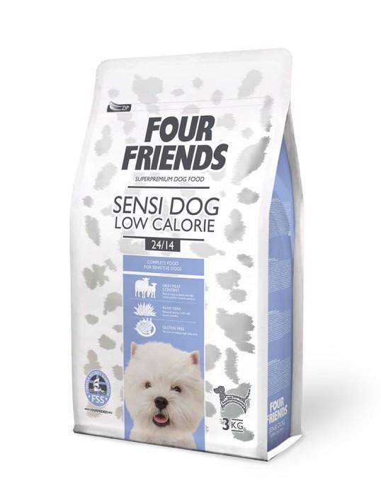 FourFriends Sensi Dog Low Calorie 3kg