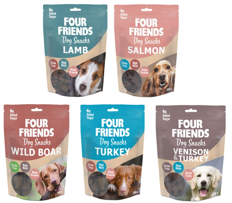 Hundkex FourFriends 200gr