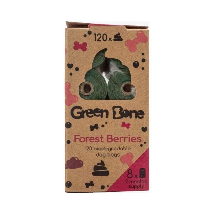 Green Bone Nedbrytbara Bajspåsar Refill 8-pack