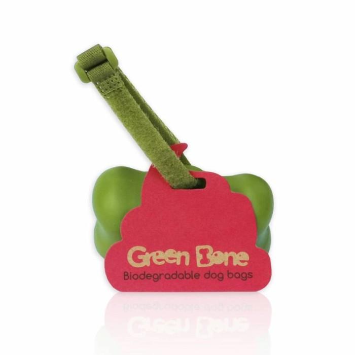 Green Bone Hållare inkl bajspåsar, Parfymerad