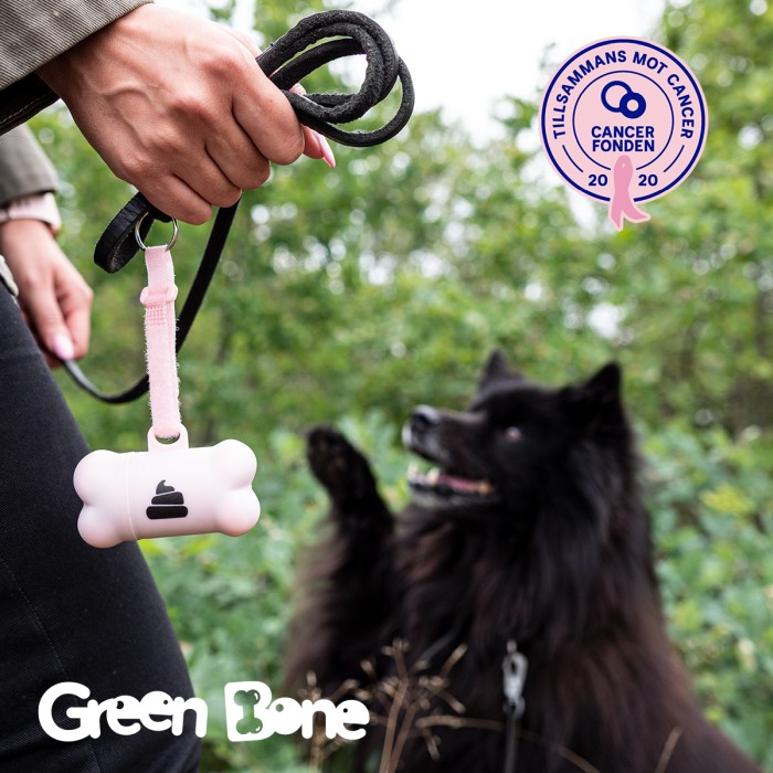 Green Bone-hållare Pink Edition