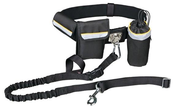 Trixie Handsfree-bälte m expander 60-120cm