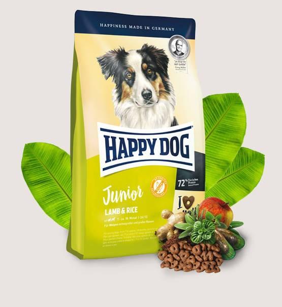 Happy Dog Junior Lamm & Ris 10kg