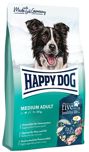 Happy Dog Adult Medium, 12kg
