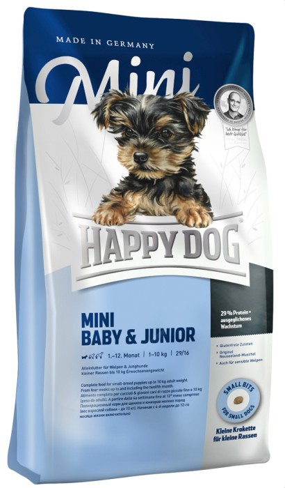 Happy Dog Mini Baby & Junior 4kg