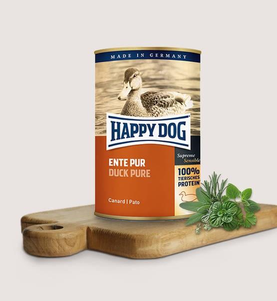 Happy Dog Våtfoder Anka 400g