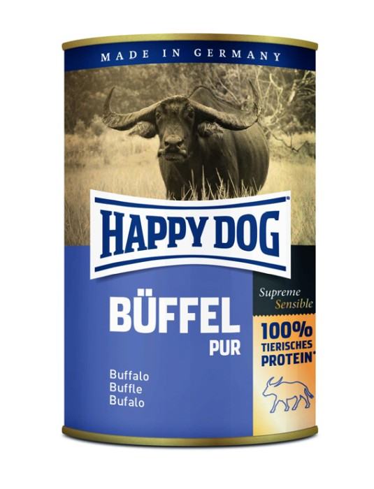 Happy Dog Våtfoder Buffel 400g