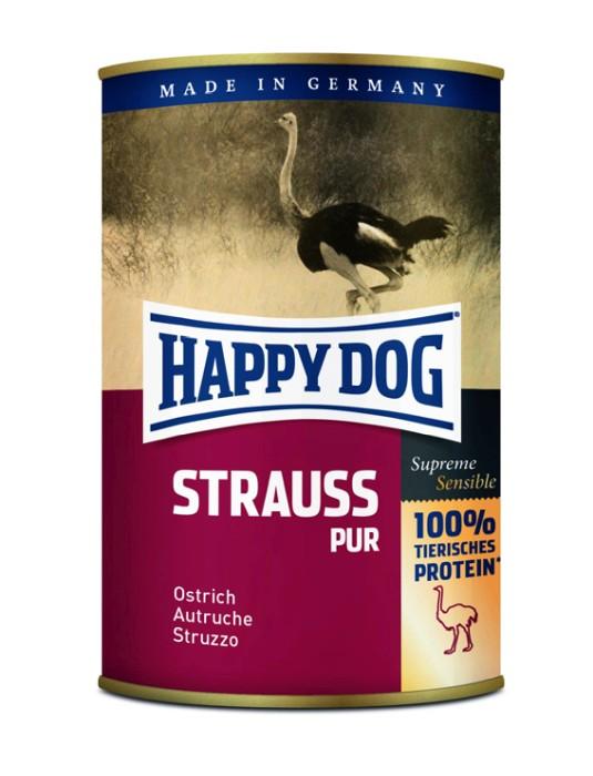 Happy Dog Våtfoder Struts 400g