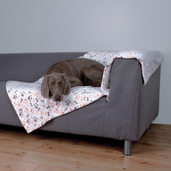 Trixie Hundfilt Lingo 150×100cm Vit/Beige