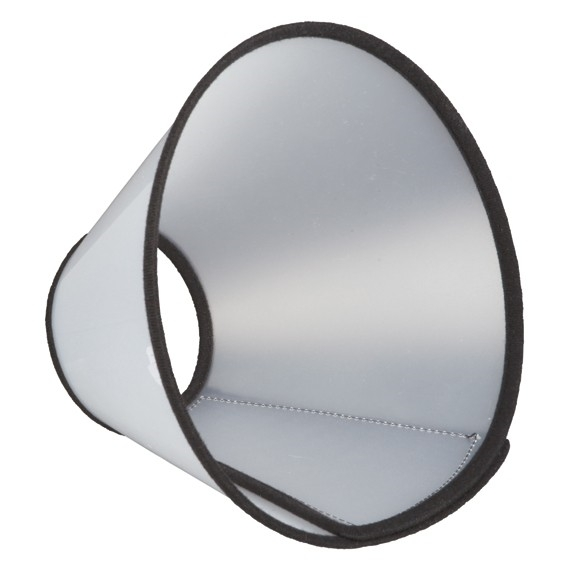 Trixie Hundkrage m kardborre L-XL 50-58cm/28cm