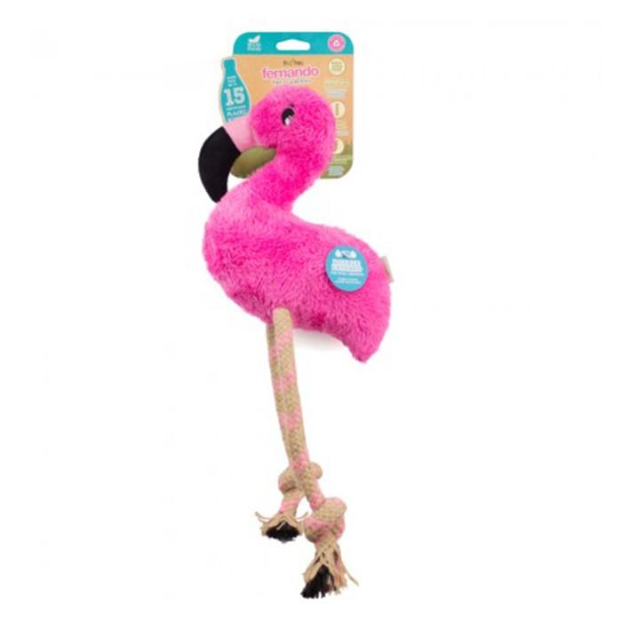 Beco Hundleksak Flamingo Medium