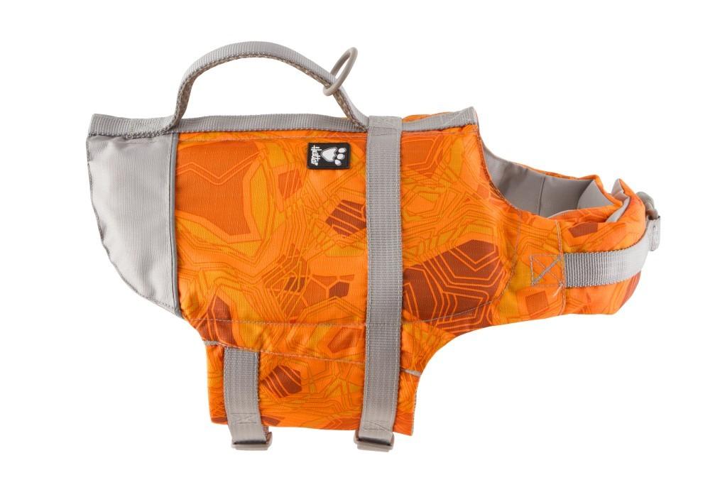 Hurtta Life Savior Flytväst Orange Camo