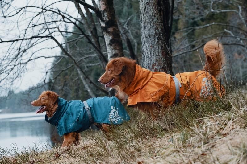 Hurtta Monsoon Coat Regntäcke Blåbär