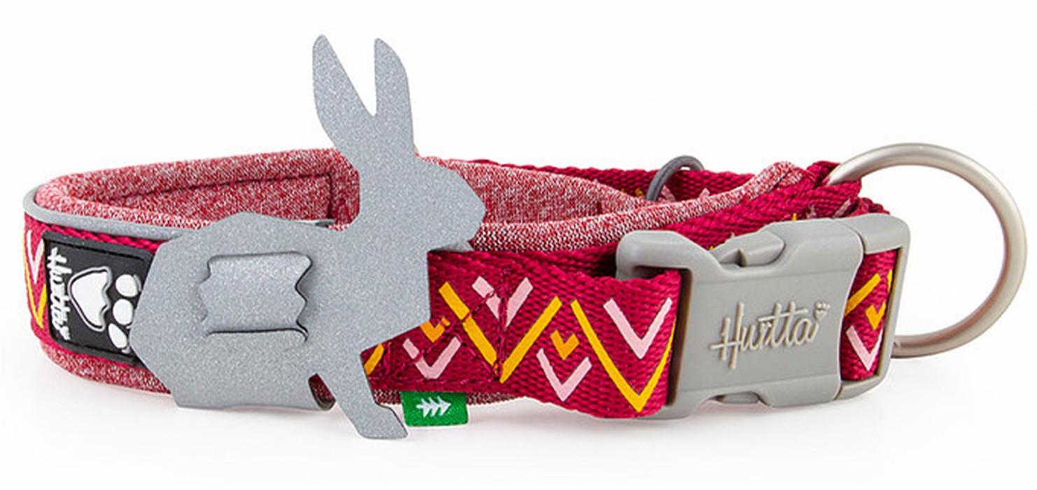 Hurtta Razzle-Dazzle Halsband Fast Röd