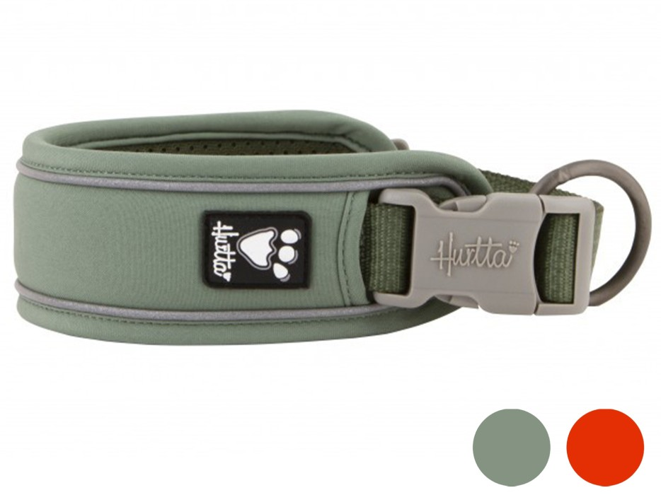 Hurtta Weekend Warrior Eco Halsband, 25-45cm